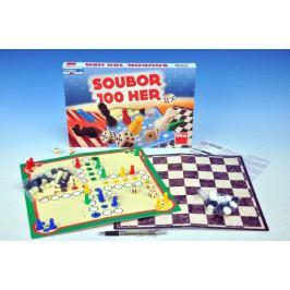 Dino Soubor her 100 společenská hra v krabici 33x23x3,5cm