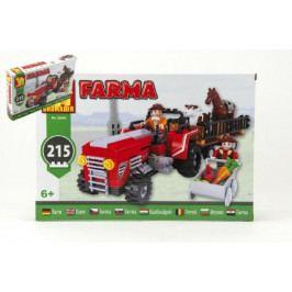 Dromader Stavebnice Dromader Farma 28505 215ks v krabici 32x21,5x5cm