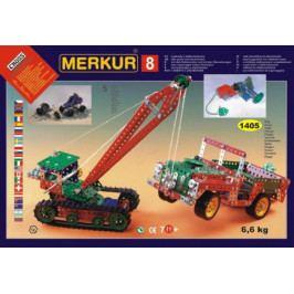 Merkur Toys Stavebnice MERKUR 8 130 modelů 1405ks 5 vrstev v krabici 54x36,5x8,5cm