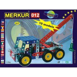 Merkur Toys Stavebnice MERKUR 012 Odtahové vozidlo 10 modelů 217ks v krabici 26x18x5cm