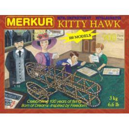 Merkur Toys Stavebnice MERKUR Kitty Hawk 100 modelů 900ks v krabici 36x27x5cm