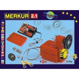 Merkur Toys Stavebnice MERKUR 2.1 Elektromotorek v krabici 26x18x5cm