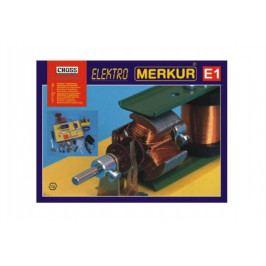 Merkur Toys Stavebnice MERKUR E1 elektřina, magnetizmus v krabici 36x28x8cm