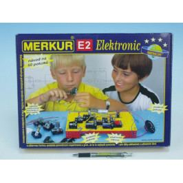 Merkur Toys Stavebnice MERKUR E2 elektronic v krabici 36x27x6cm