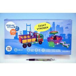 Vista Stavebnice Seva City mini 2 plast 233ks v krabici 31,5x16,5x7,5cm