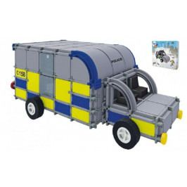 Vista Stavebnice Seva Rescue 2 Policie plast 534ks v krabici 35x33x8cm