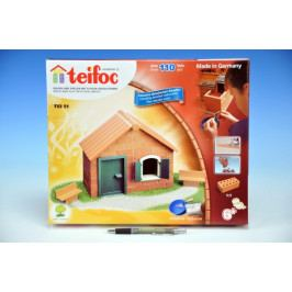 Směr Stavebnice Teifoc Domek Daniel 110ks v krabici 35x29x4,5cm