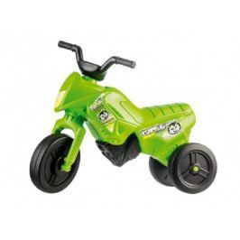 Teddies Odrážedlo Enduro Yupee zelené malé plast výška sedadla 26cm nosnost do 25kg od 12 měsíců