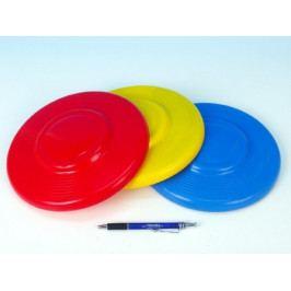 Létající talíř plast průměr 23cm asst barev 12m+