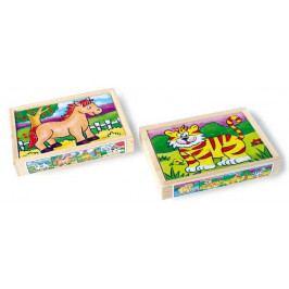 Small foot by Legler Dřevěné hračky -  Puzzle v krabičce - Zvířata