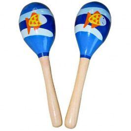 HJ Toys Dětské hudební nástroje - Dětské rumbakoule ryba