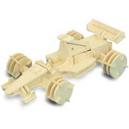 Woodcraft construction kit Dřevěné 3D puzzle dřevěná skládačka auta - Formule 1 P081