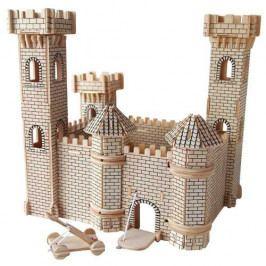 Woodcraft construction kit Dřevěné skládačky 3D puzzle slavné budovy - Hrad II - PH025