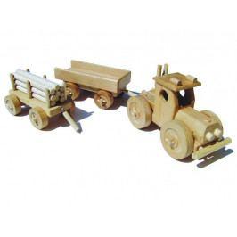 Ceeda Cavity Ceeda Cavity - dřevěné auto - Traktor s vlečkou - velký
