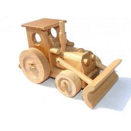 Ceeda Cavity Ceeda Cavity - přírodní dřevěné auto - Traktor s radlicí