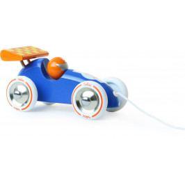 Vilac Vilac dřevěné závodní tahací auto modré