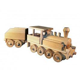 Ceeda Cavity Ceeda Cavity - přírodní dřevěný vláček - Parní lokomotiva