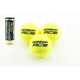 Teddies Tenisové míčky Donnay 3ks v tubě 8x21x8cm