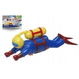 Teddies Potápěč plast 20cm na natažení na kartě