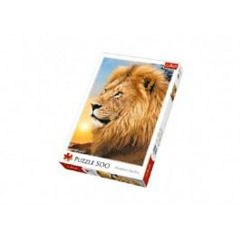 Trefl Puzzle Lev 500 dílků 34x48cm v krabici 26,5x39,5x4,5cm