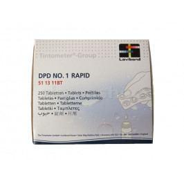 Vodní tester - náhradní tablety chlór (250ks)