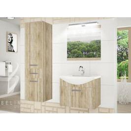 Moderní koupelnová sestava FINE s led osvětlením 2PRO + zrcadlo a umyvadlo 01 ZDARMA!! 183