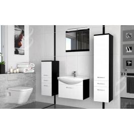 Moderní koupelnová sestava s led osvětlením + zrcadlo a umyvadlo zdarma 50