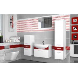 Moderní stylová koupelnová sestava - zrcadlo a umyvadlo ZDARMA 43