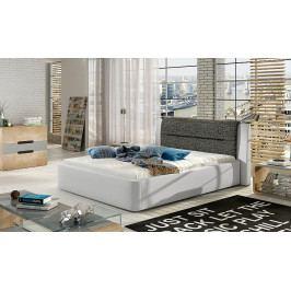 Čalouněná postel s úložným prostorem Piri 140 x 200 01