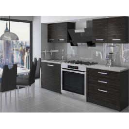 Kuchyň paneláková Brazil 120 cm 01 - Krátká úchytka