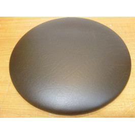 Čalouněný kulatý sedák 40 cm na židli  bílošedá - AL12