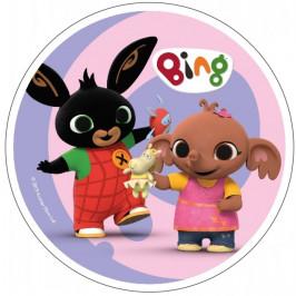 Jedlý papír Králíček Bing 1