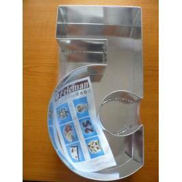 Felcman dortová forma číslice 5
