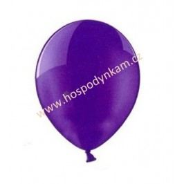 Balónky fialové