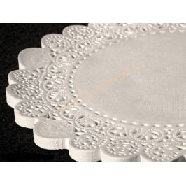 Papírová krajka pod dort kulatá, 36cm