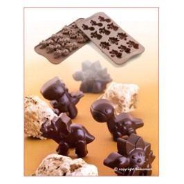 Silikomart Silikonová forma na čokoládu Dino