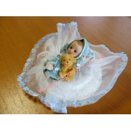 Figurka na dort - miminko chlapeček II