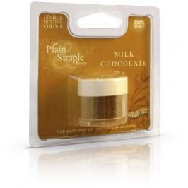 Prachová barva Milk Chocolate