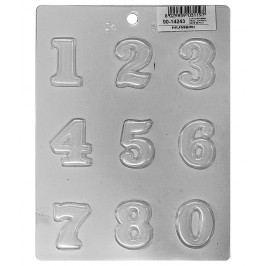 Martellato Forma na čokoládu čísla