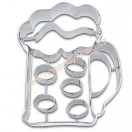Vykrajovátko pivní sklenice