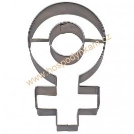 Vykrajovátko Venuše, ženský znak
