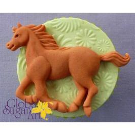 Silikonová forma na marcipán Běžící kůň