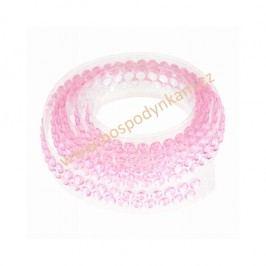 Ozdobný pás na dort růžový