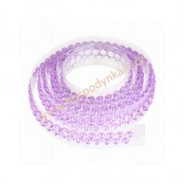 Ozdobný pás na dort fialový