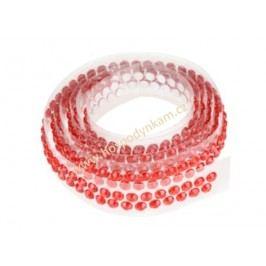Modecor Ozdobný pás na dort červený