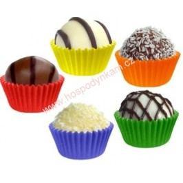 Cukrářské košíčky na pečení 2,5x1,8cm, barevné