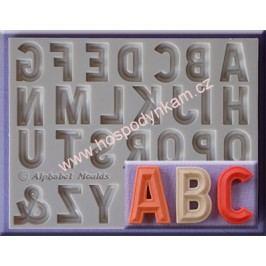 Silikonová forma na marcipán - abeceda