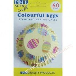 Cukrářské košíčky na pečení PME velikonoční žluté