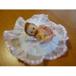 Figurka na dort - miminko holčička II