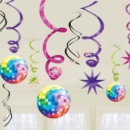Spirálová dekorace Disco